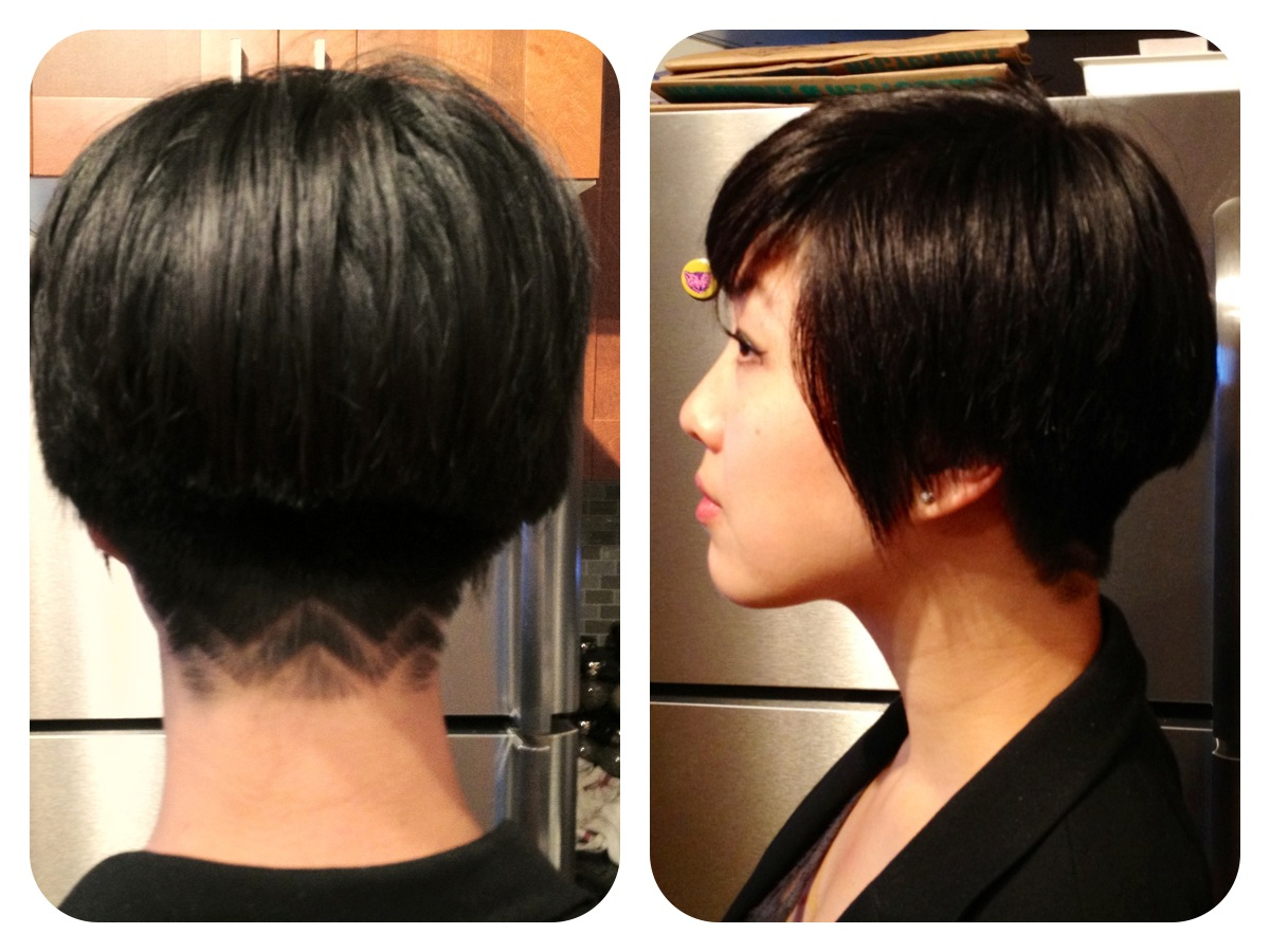 Chevron Nape Undercut — Shortest My Hair Has Ever Been! – Imgur With Sunset Inspired Pixie Bob Hairstyles With Nape Undercut (View 5 of 20)