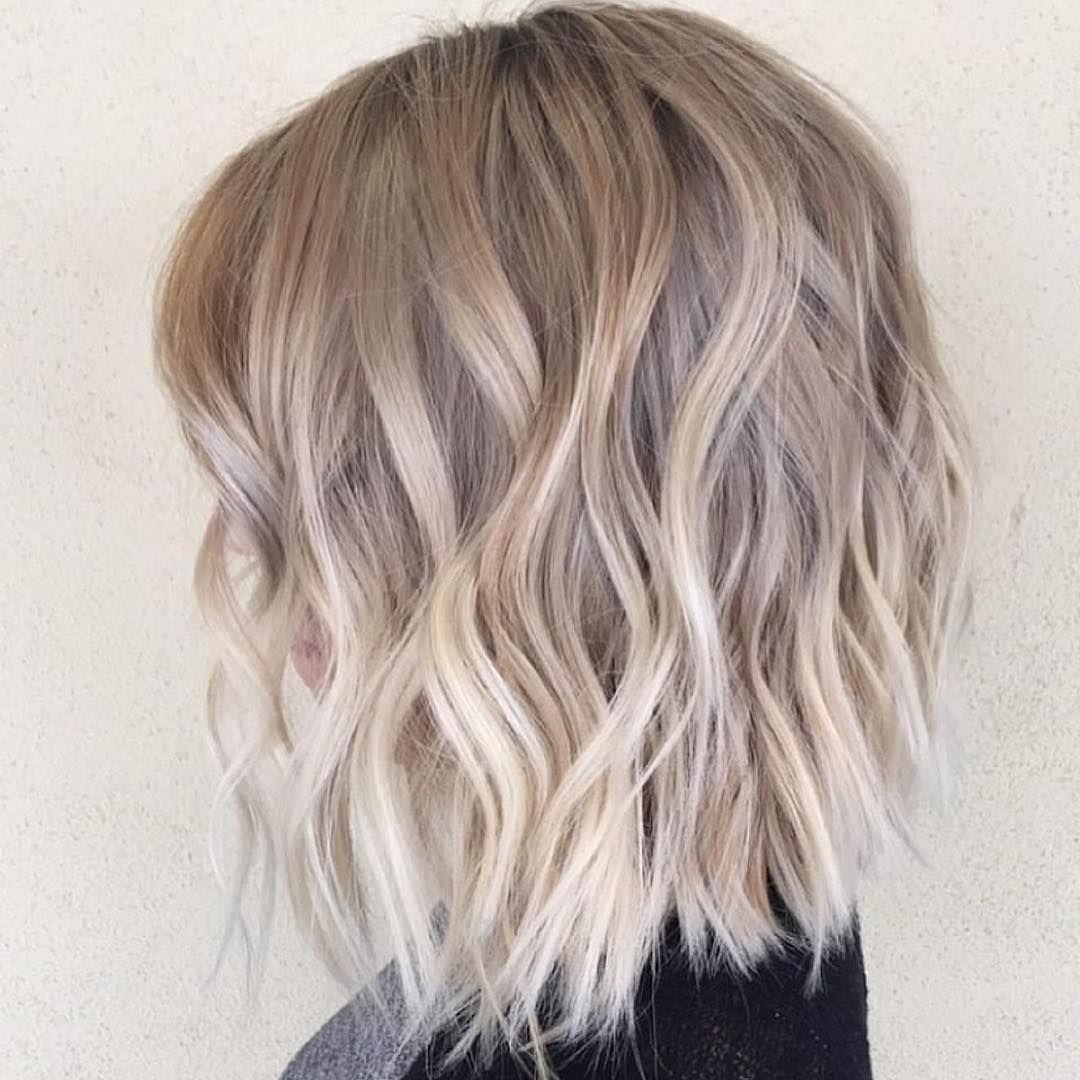 Choppy Blunt Waves | Bob | Ash Blonde || Habit Stylist Intended For Choppy Ash Blonde Bob Hairstyles (View 16 of 20)