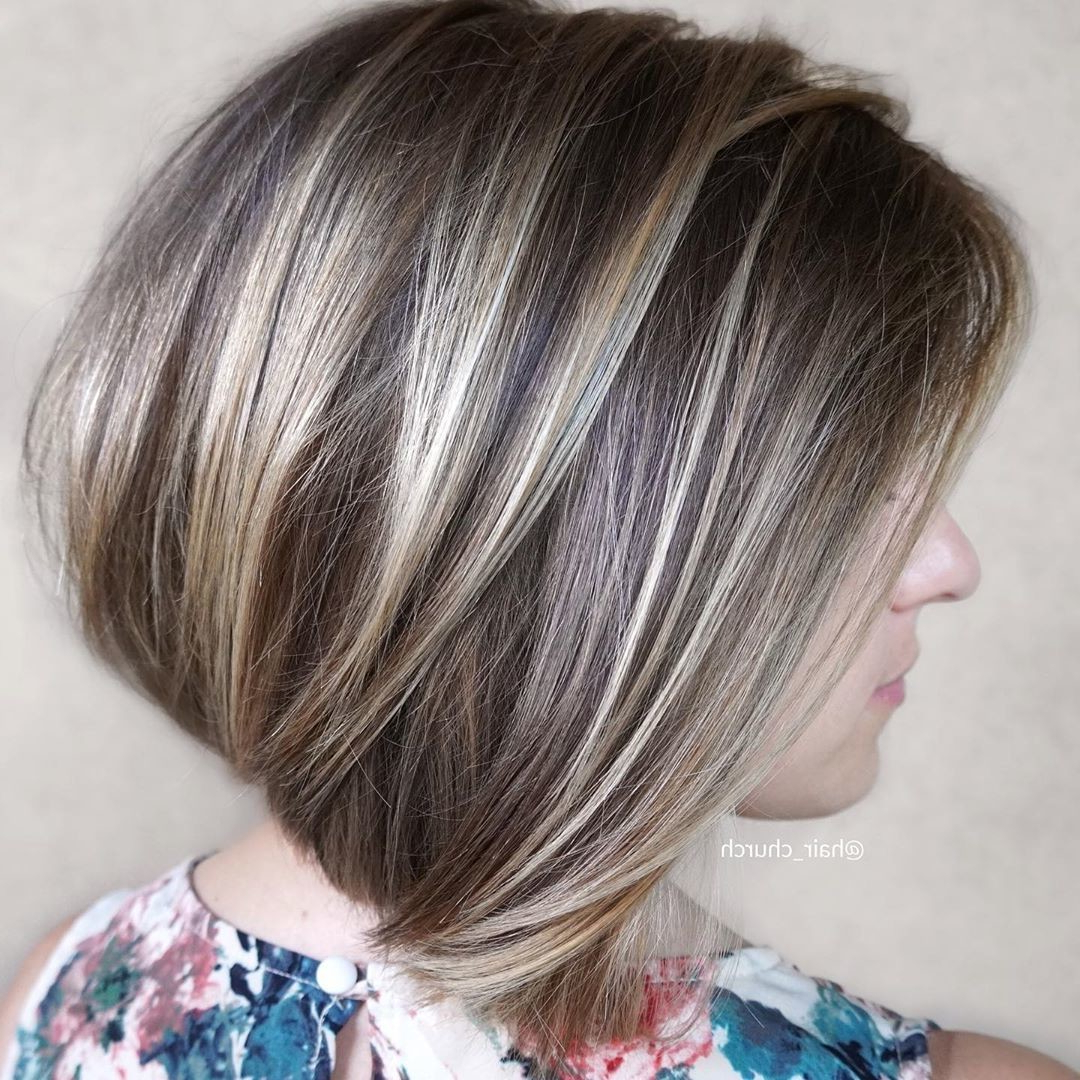 Chunky Highlight Hair Ideas – Stylebistro For Bob Hairstyles With Contrasting Highlights (View 8 of 20)