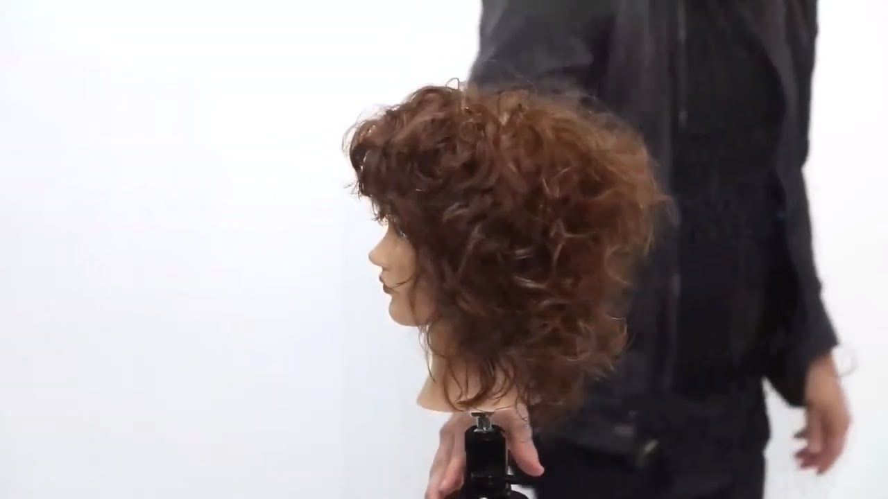 Curly Shag Haircut Tutorial Regarding Widely Used Waterfall Of Curls Shag Long Hairstyles (View 10 of 20)