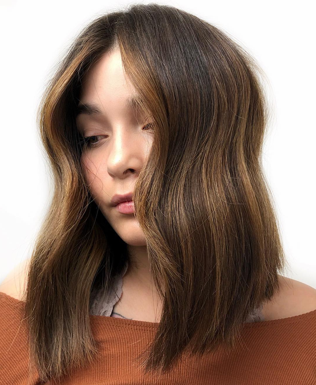 Current Fun Razored Shag Haircuts For Straight Hair Pertaining To 40 Medium Length Hairstyles For Thick Hair ⋆ Palau Oceans (View 15 of 20)