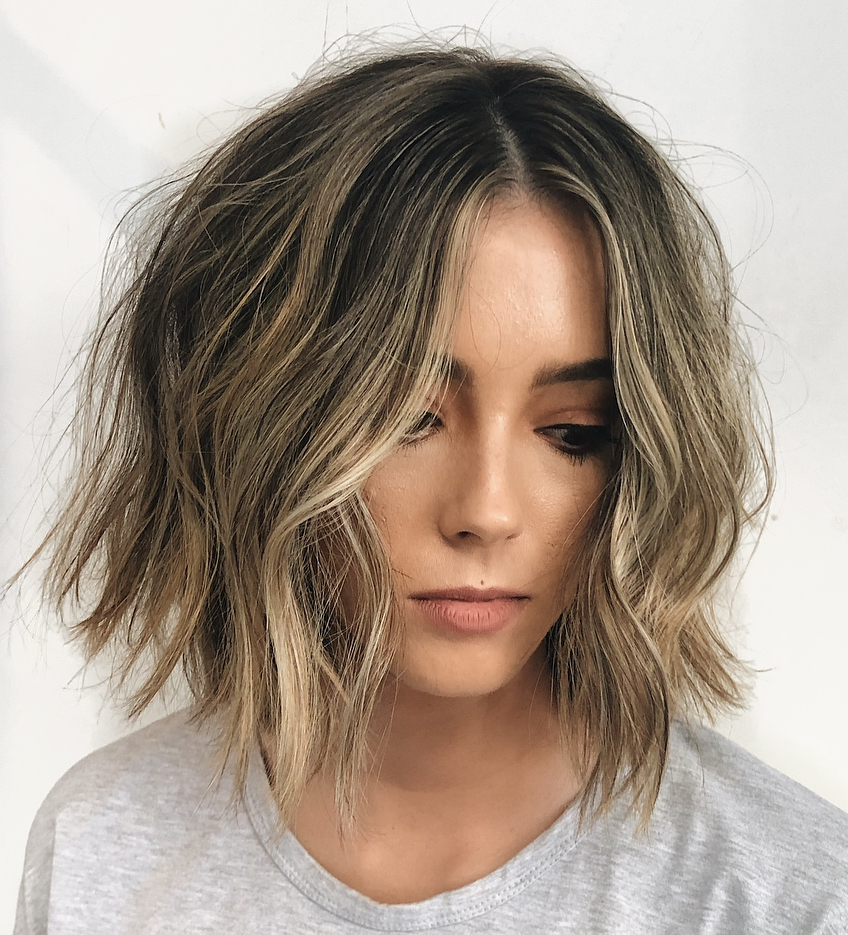 Current Honey Bronde Shaggy Hairstyles With Bangs For Find Your Best Bob Haircut For (View 14 of 20)