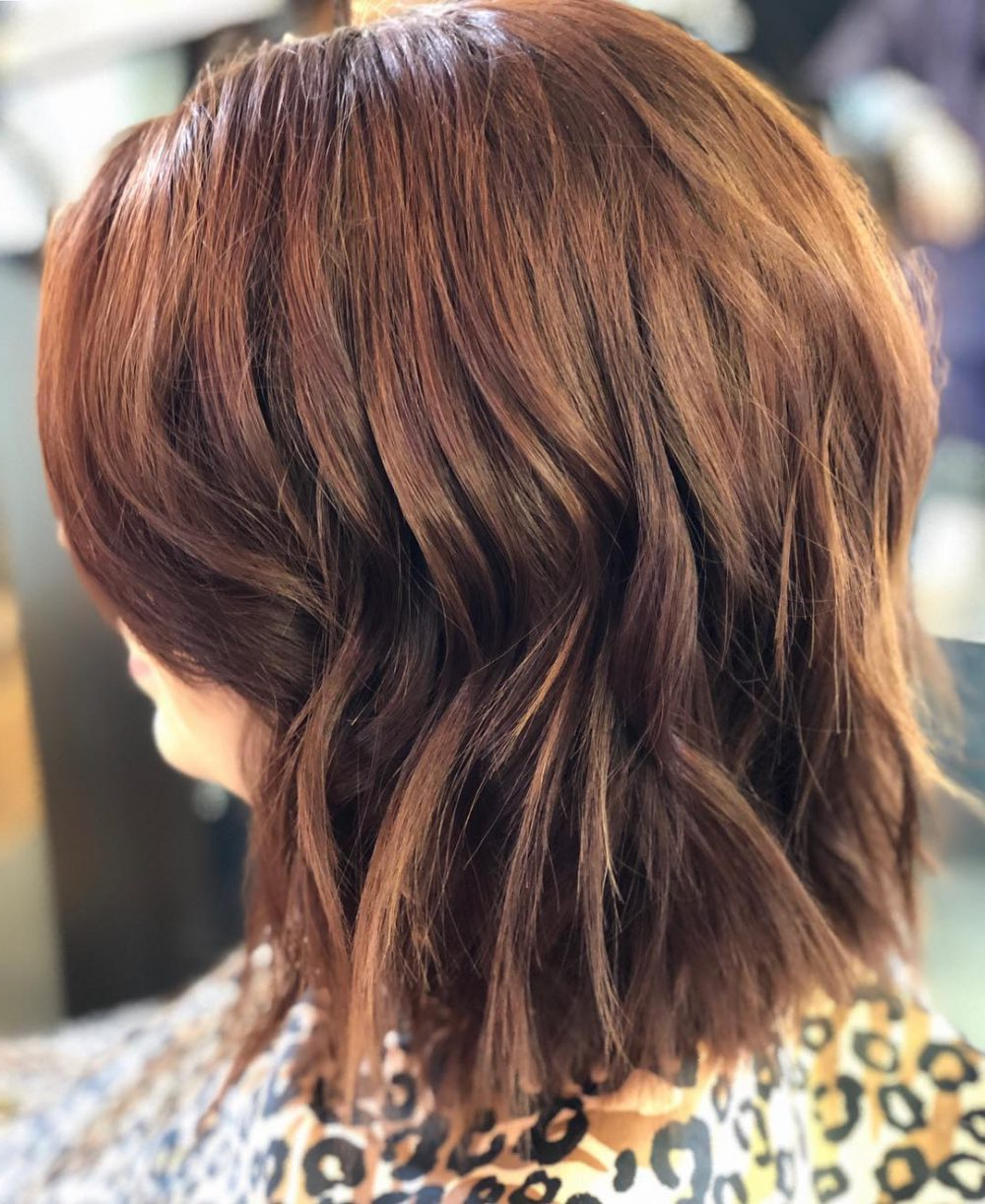 Current Jagged Red Ombre Hairstyles With Regard To 47 Popular Short Choppy Hairstyles For 2019 (Gallery 15 of 20)