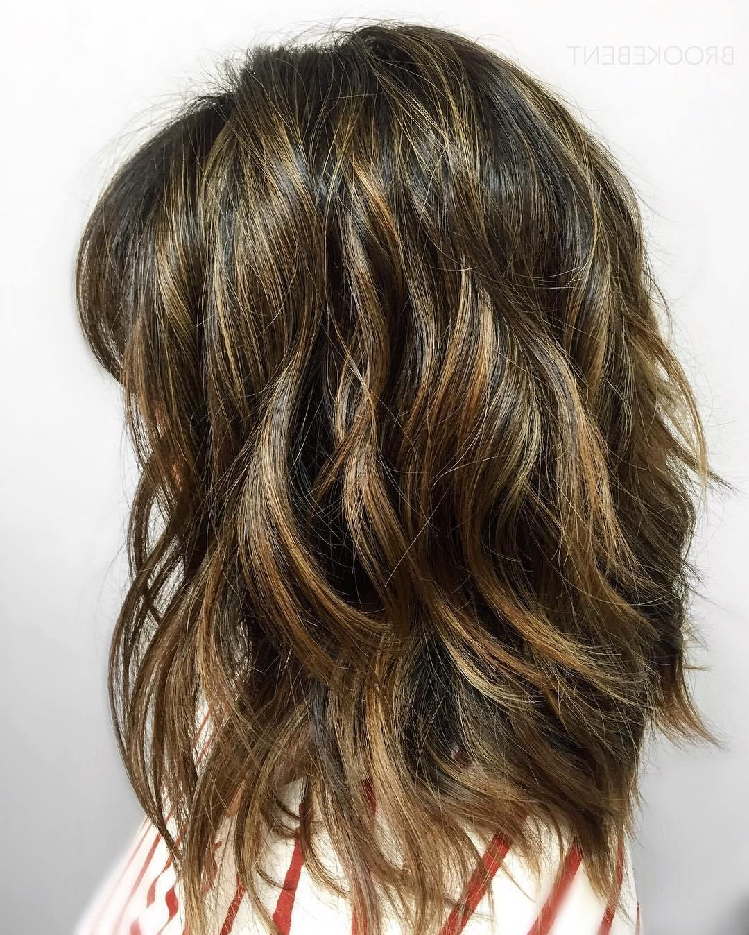 Current Long Wavy Layers Hairstyles With Regard To Pin On Hair Cuts (View 14 of 20)