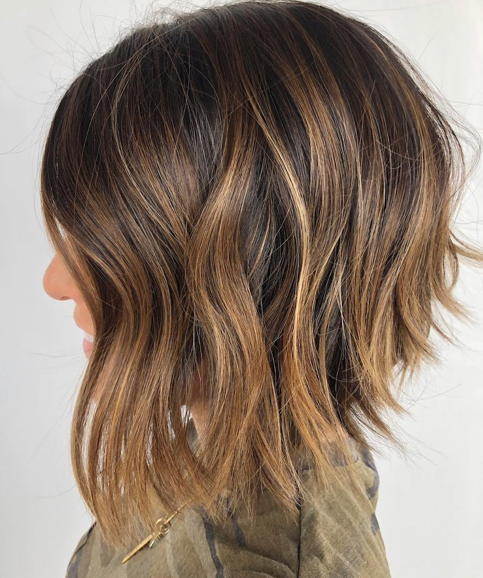 Current Medium Haircuts With Subtle Balayage Throughout The Hottest Balayage Hair Color To Make Them Envy In (View 16 of 20)