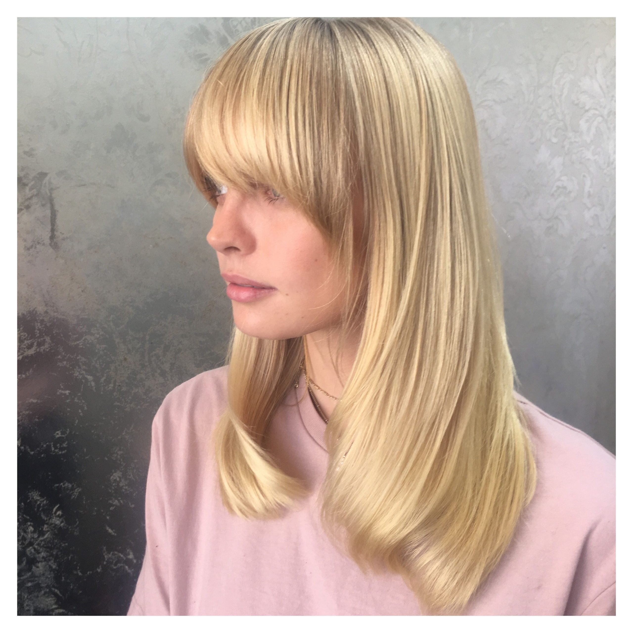 Current Perfect Bangs And Wild Layers Hairstyles Intended For Popular International Hair Trends And Haircuts (View 9 of 20)