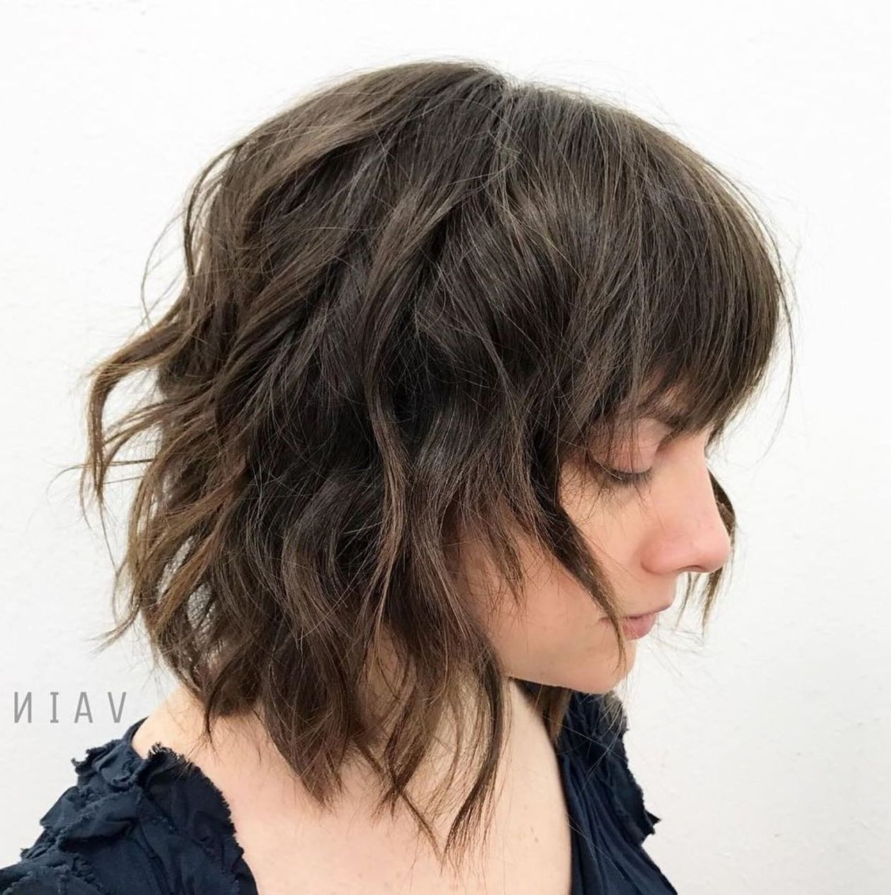 Current Razored Wavy Shag Haircuts With Light Bangs With 60 Most Universal Modern Shag Haircut Solutions In (View 4 of 20)
