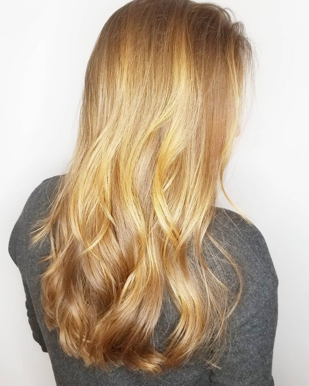 Current Shiny Caramel Layers Long Shag Haircuts Within 36 Perfect Hairstyles For Long Thin Hair (Trending For 2019!) (View 9 of 20)
