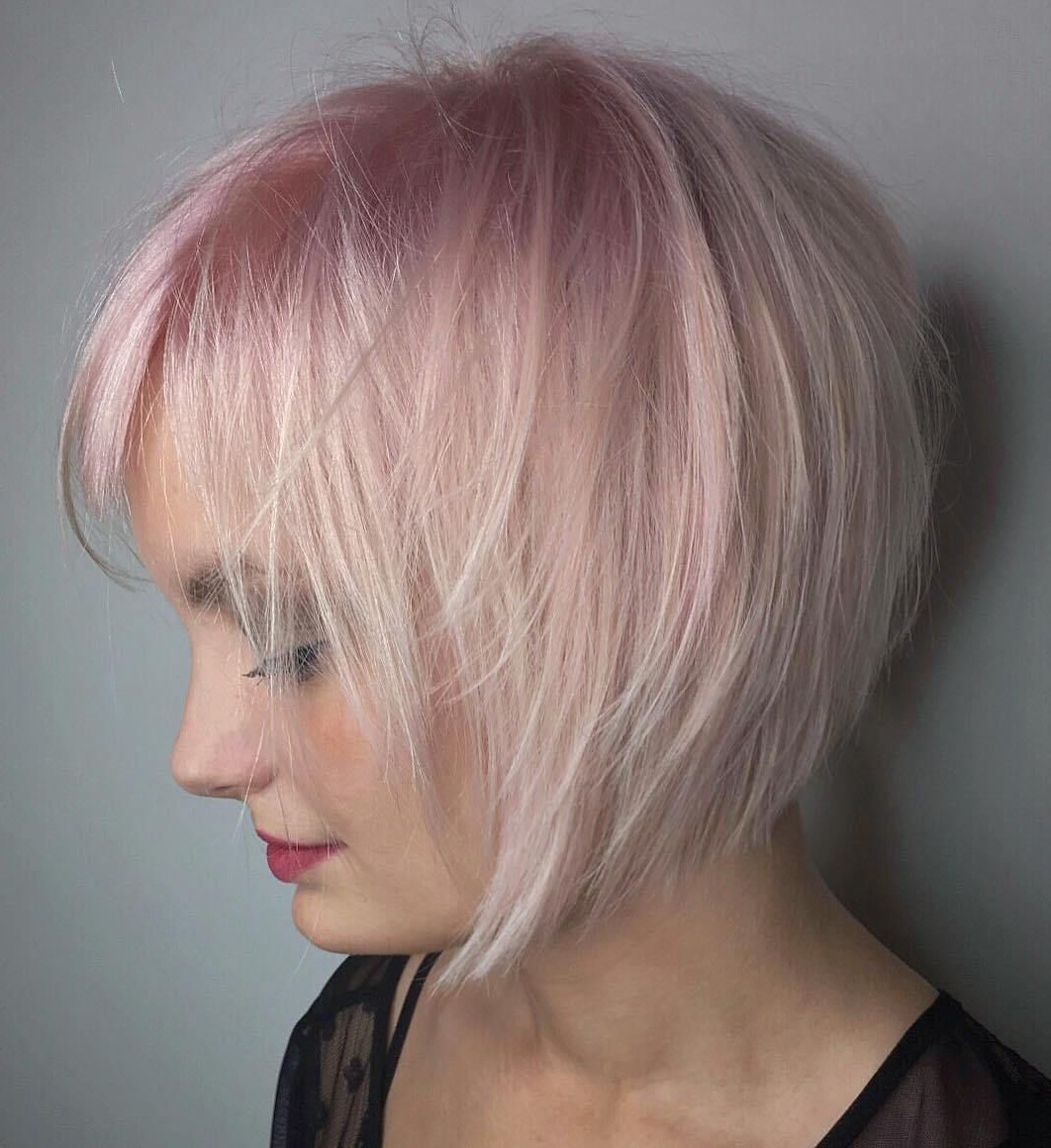 Current Soft Pastel Shag Haircuts In 60 Short Shag Hairstyles That You Simply Can't Miss (View 6 of 20)