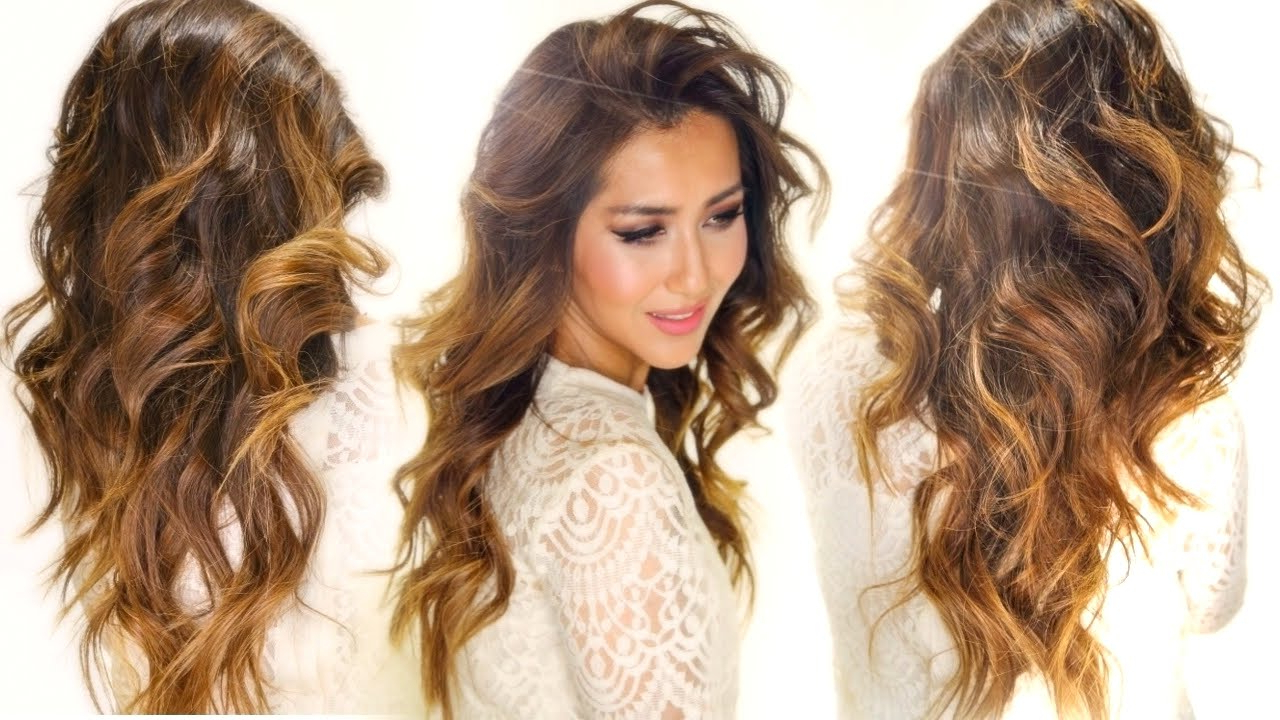 ★How To: My Caramel Hair Color – Drugstore! Ombre Hairstyles Intended For Most Current Voluminous Long Caramel Hairstyles (View 1 of 20)