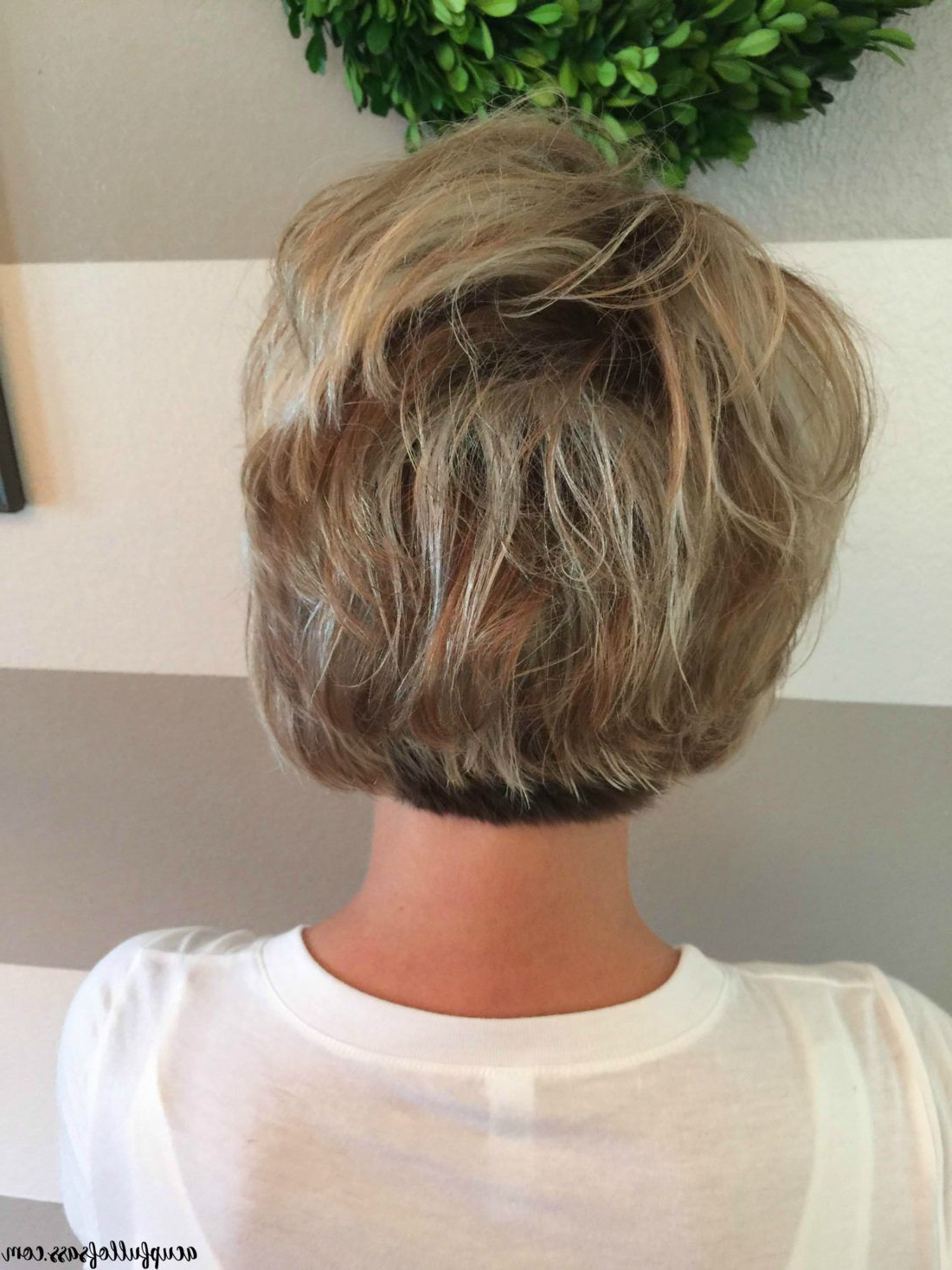 Easy Short Hairstyle With Fall Colors | Bobs | Short Hair With Short Shag Haircuts With Sass (View 7 of 20)