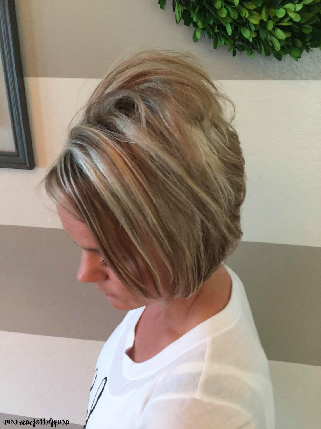 Easy Short Hairstyle With Fall Colors | Hair | Short Hair Inside Short Shag Haircuts With Sass (View 10 of 20)