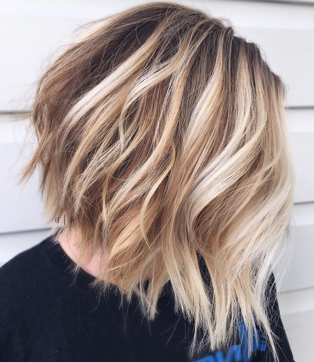 Famous Blonde Lob Hairstyles With Disconnected Jagged Layers Intended For Find Your Best Bob Haircut For 2019 (Gallery 8 of 20)