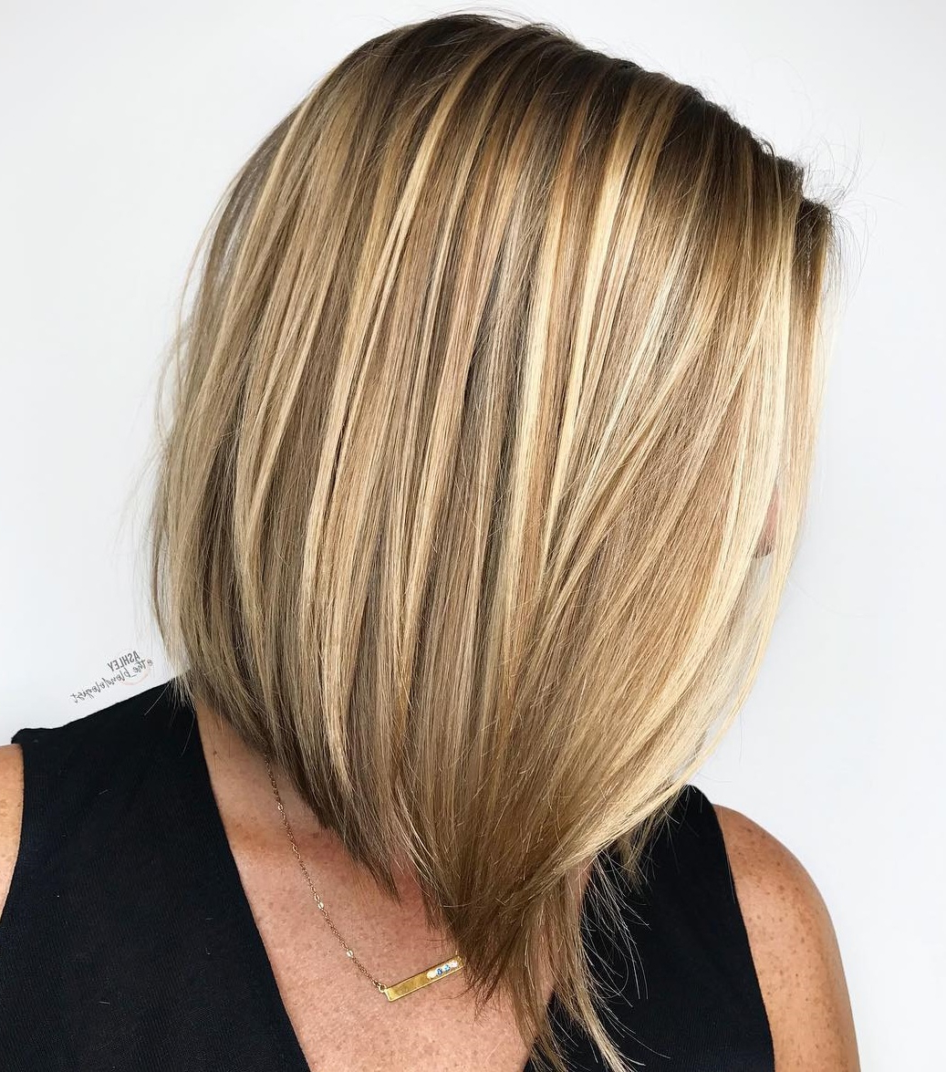 Famous Mid Length Sliced Bronde Haircuts Pertaining To How To Pull Off Medium Length Haircuts And Hairstyles In (View 3 of 20)