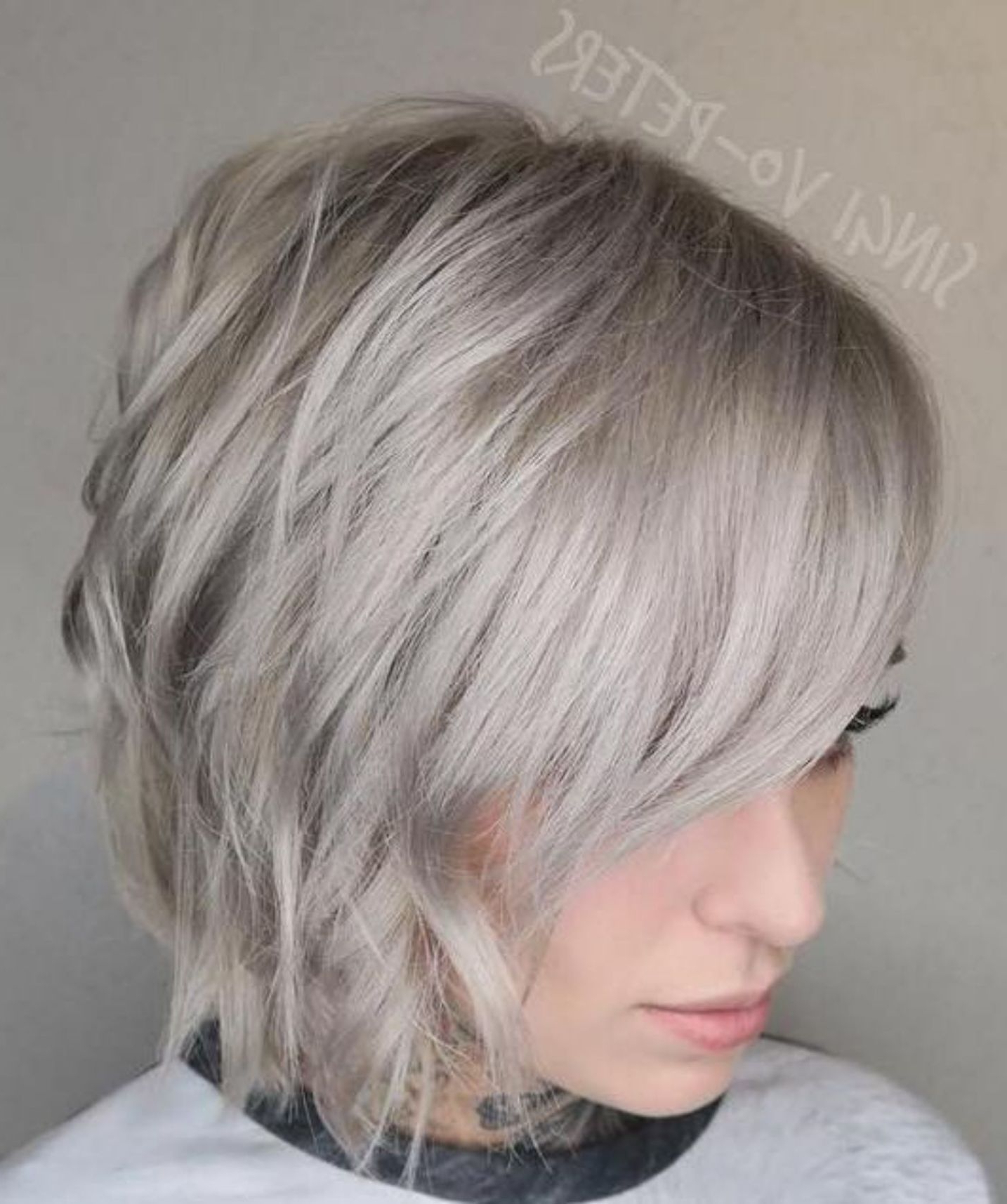 Famous Short Shag Haircuts With Side Bangs Throughout 60 Short Shag Hairstyles That You Simply Can't Miss In (View 9 of 20)