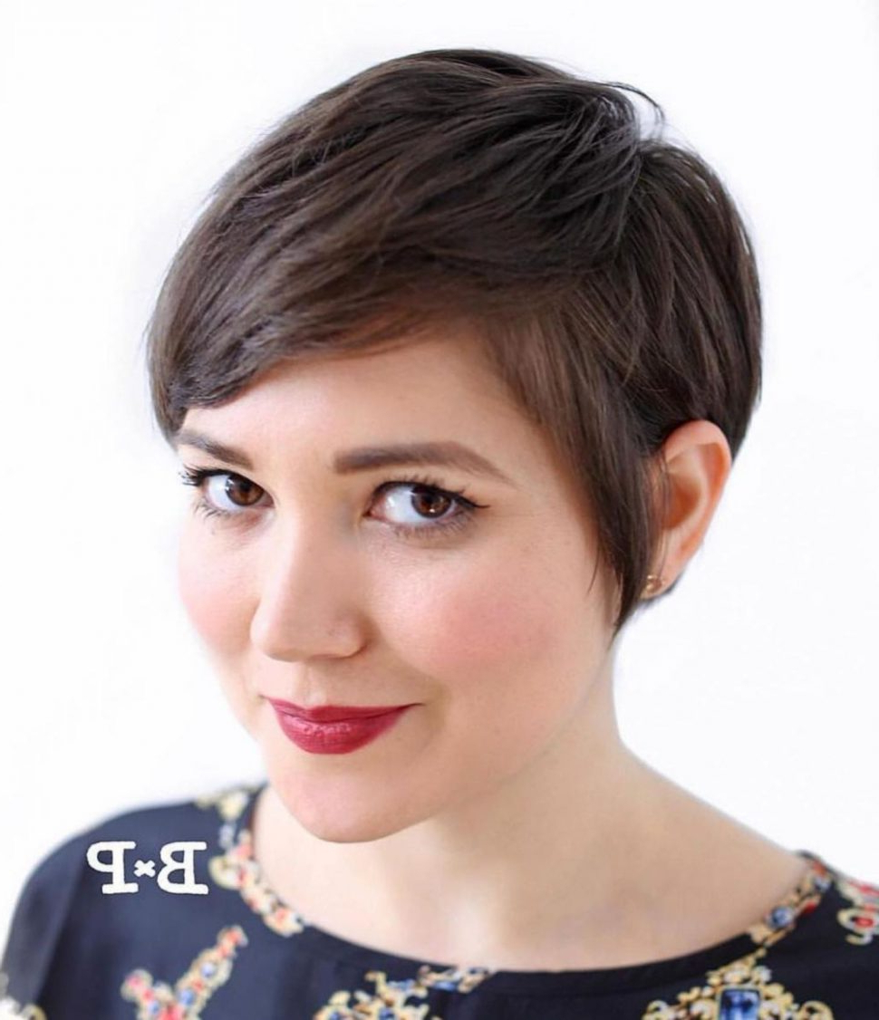 Fashion : 50 Super Cute Looks With Short Hairstyles For In Pixie Hairstyles For Round Faces (Gallery 4 of 20)