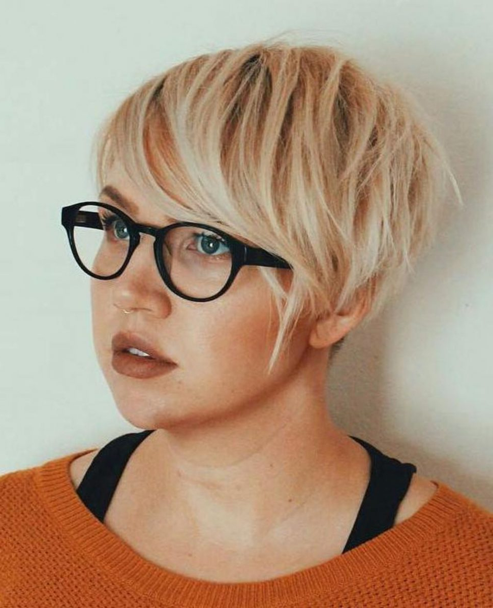 Fashion : 50 Super Cute Looks With Short Hairstyles For Throughout Pixie Hairstyles For Round Faces (View 5 of 20)