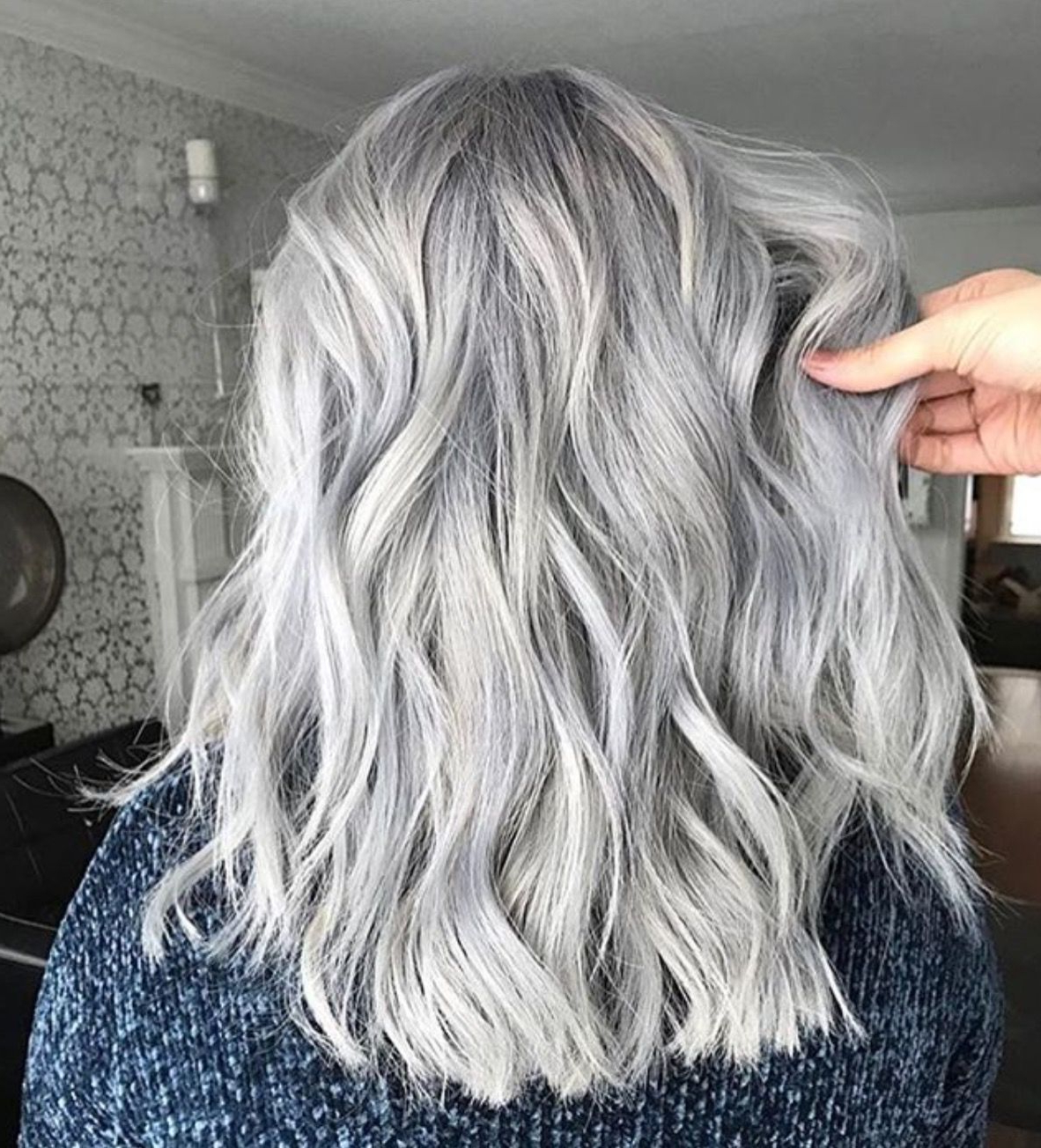 Fashion Regarding Popular Medium Silver Layers Hairstyles (View 9 of 20)