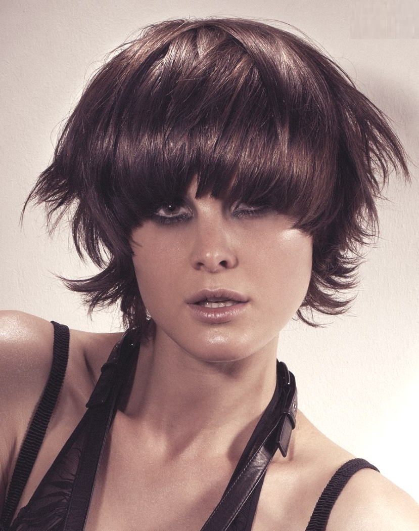 Fashion : Short Feathered Hairstyles Stunning 30 Gorgeous Pertaining To Short Feathered Hairstyles (View 7 of 20)