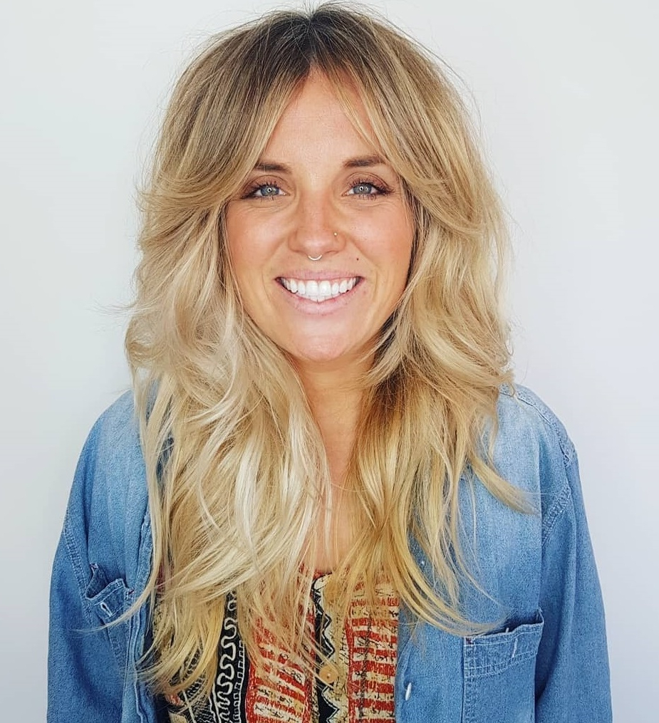 Fashionable Chic Flipping Layers Long Shag Haircuts Regarding How To Nail Layered Hair In 2019: Full Guide To Lengths And (Gallery 17 of 20)