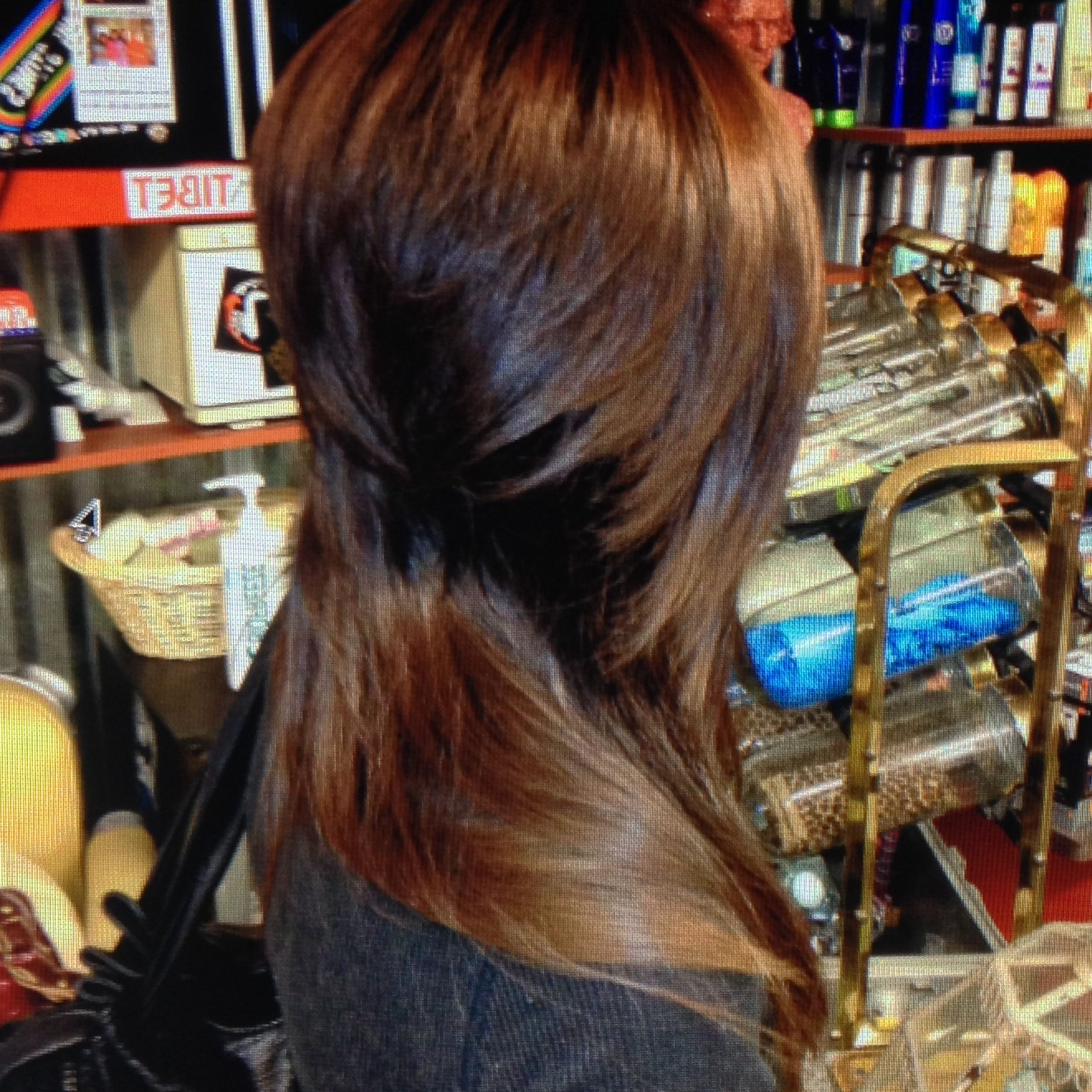 Fashionable Disconnected Brown Shag Long Hairstyles With Highlights With Regard To Pin On Hair Nails (View 11 of 20)