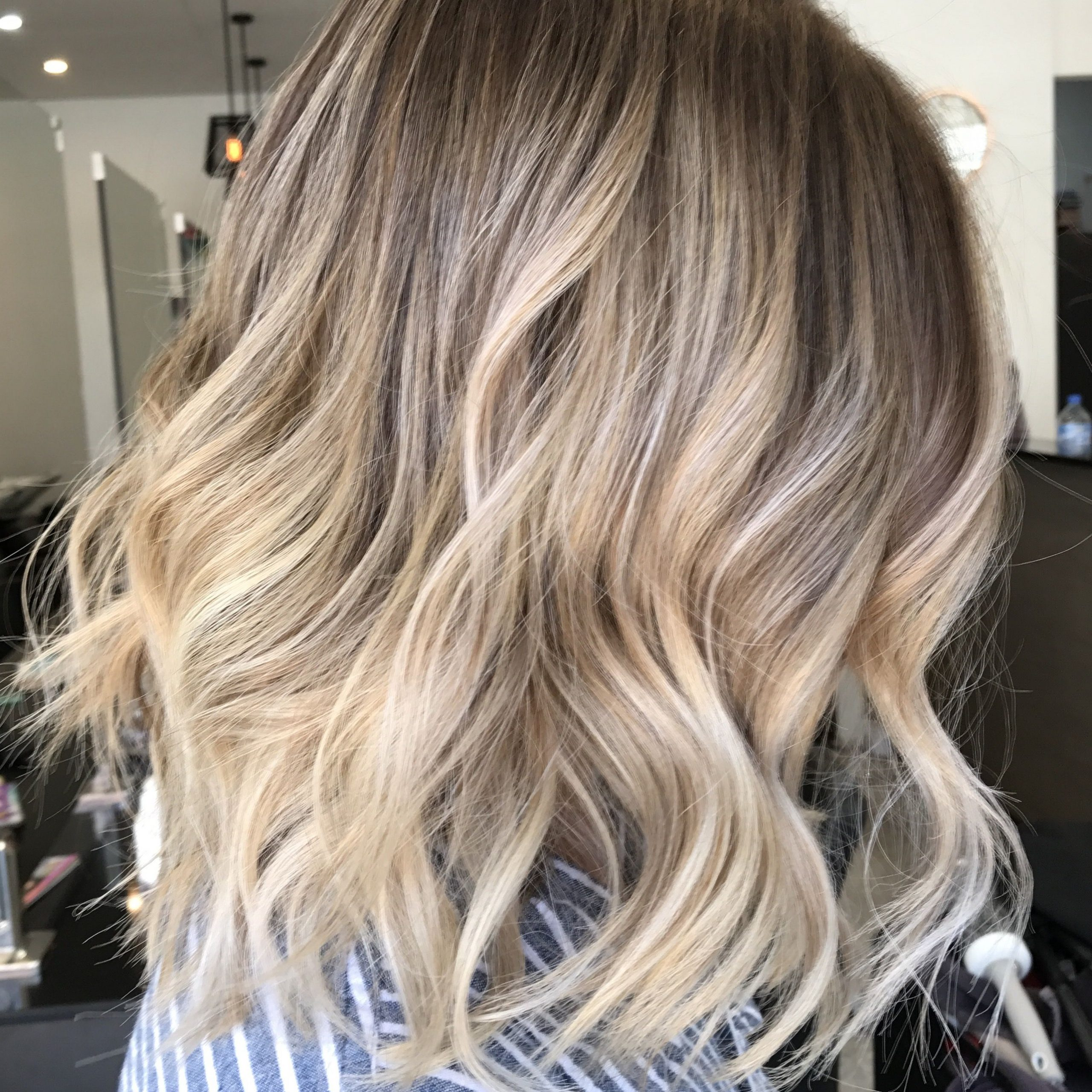 Fashionable Textured Bronde Bob Hairstyles With Silver Balayage Within Lived In Hair Colour Blonde Bronde Brunette Golden Tones (Gallery 6 of 20)