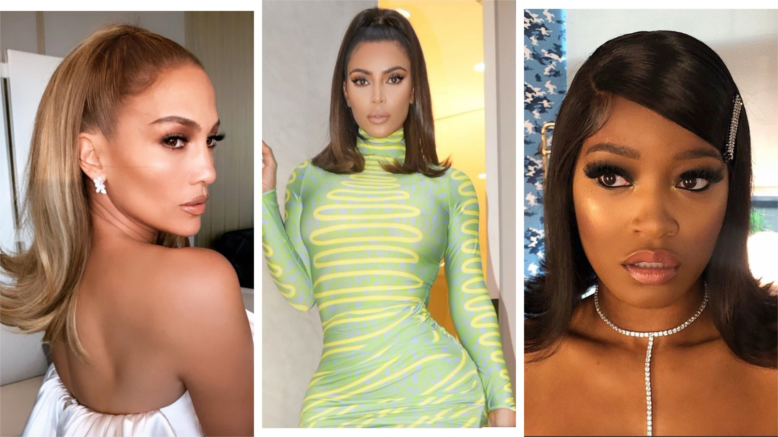 Favorite Long Black Haircuts With Light Flipped Up Ends In Celebrity Flip Hairstyles Are Trending For 2019 (Gallery 6 of 20)