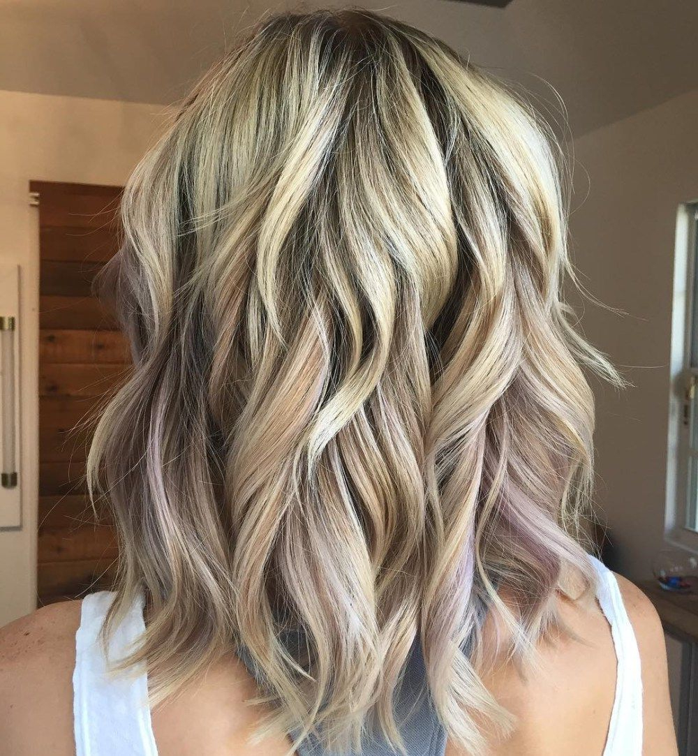 Favorite Medium Wavy Bronde Shag Haircuts Pertaining To 60 Most Magnetizing Hairstyles For Thick Wavy Hair (View 17 of 20)