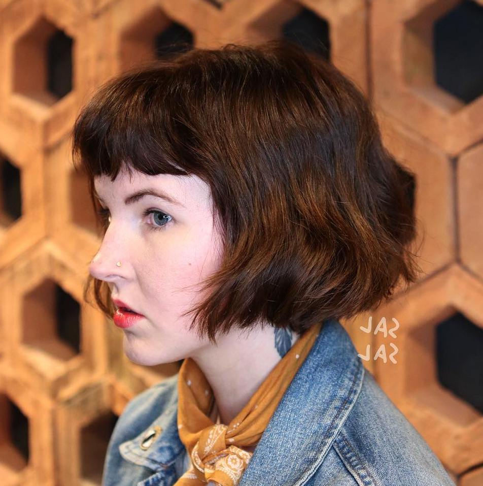 Find Your Best Bob Haircut For 2019 For Short Bob Hairstyles With Cropped Bangs (Gallery 16 of 20)