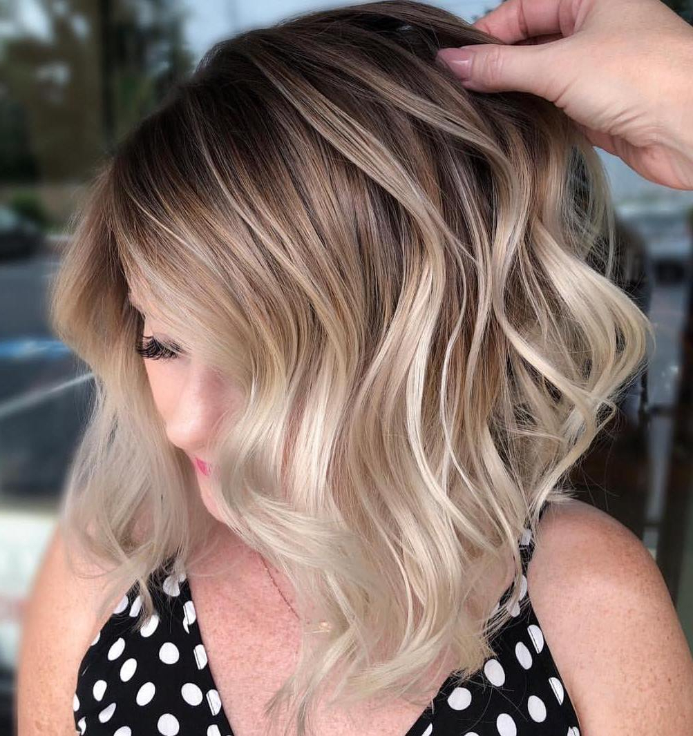 Find Your Best Bob Haircut For 2019 Inside Well Liked Textured Bronde Bob Hairstyles With Silver Balayage (Gallery 11 of 20)