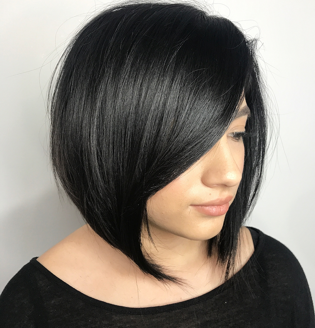 Find Your Best Bob Haircut For 2019 Intended For A Line Bob Hairstyles With Arched Bangs (View 4 of 20)