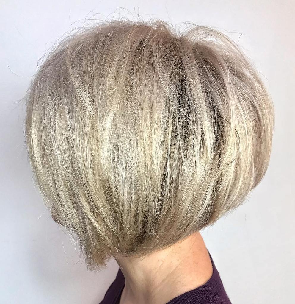 Find Your Best Bob Haircut For 2019 Intended For Voluminous Short Choppy Blonde Bob Hairstyles (View 3 of 20)