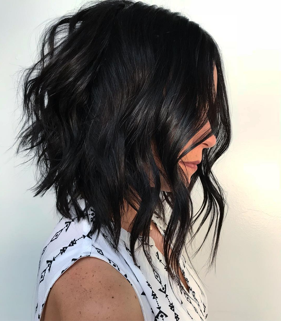 Find Your Best Bob Haircut For 2019 Pertaining To Slightly Angled Messy Bob Hairstyles (View 6 of 20)