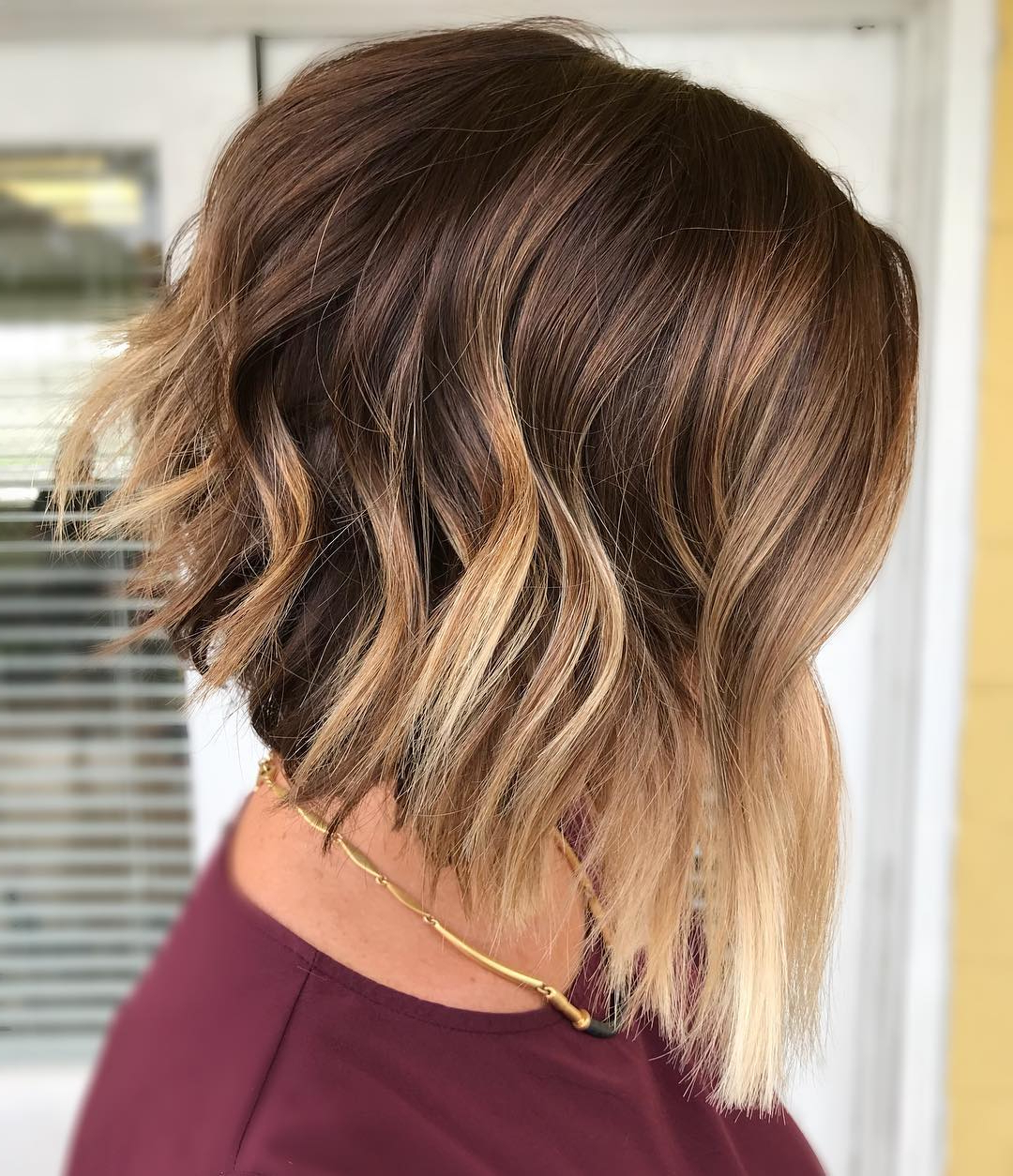 Find Your Best Bob Haircut For 2019 Regarding Fashionable Warm Brown Hairstyles With Feathered Layers (Gallery 4 of 20)