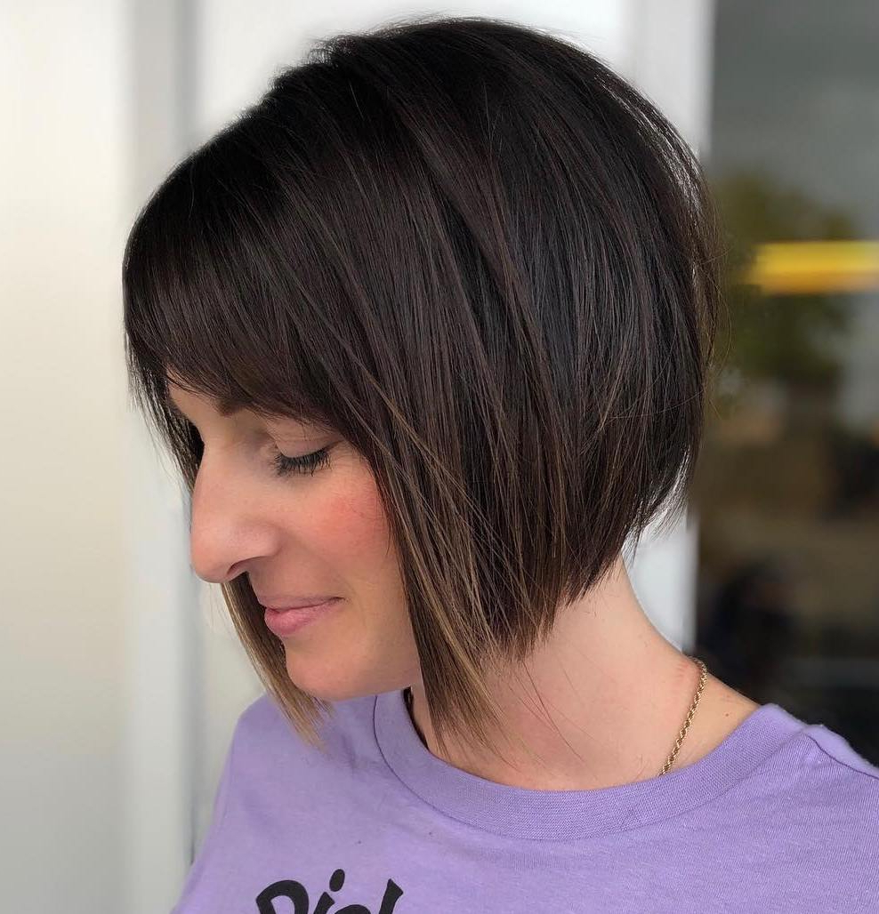 Find Your Best Bob Haircut For 2019 Regarding Razored Shaggy Bob Hairstyles With Bangs (Gallery 19 of 20)