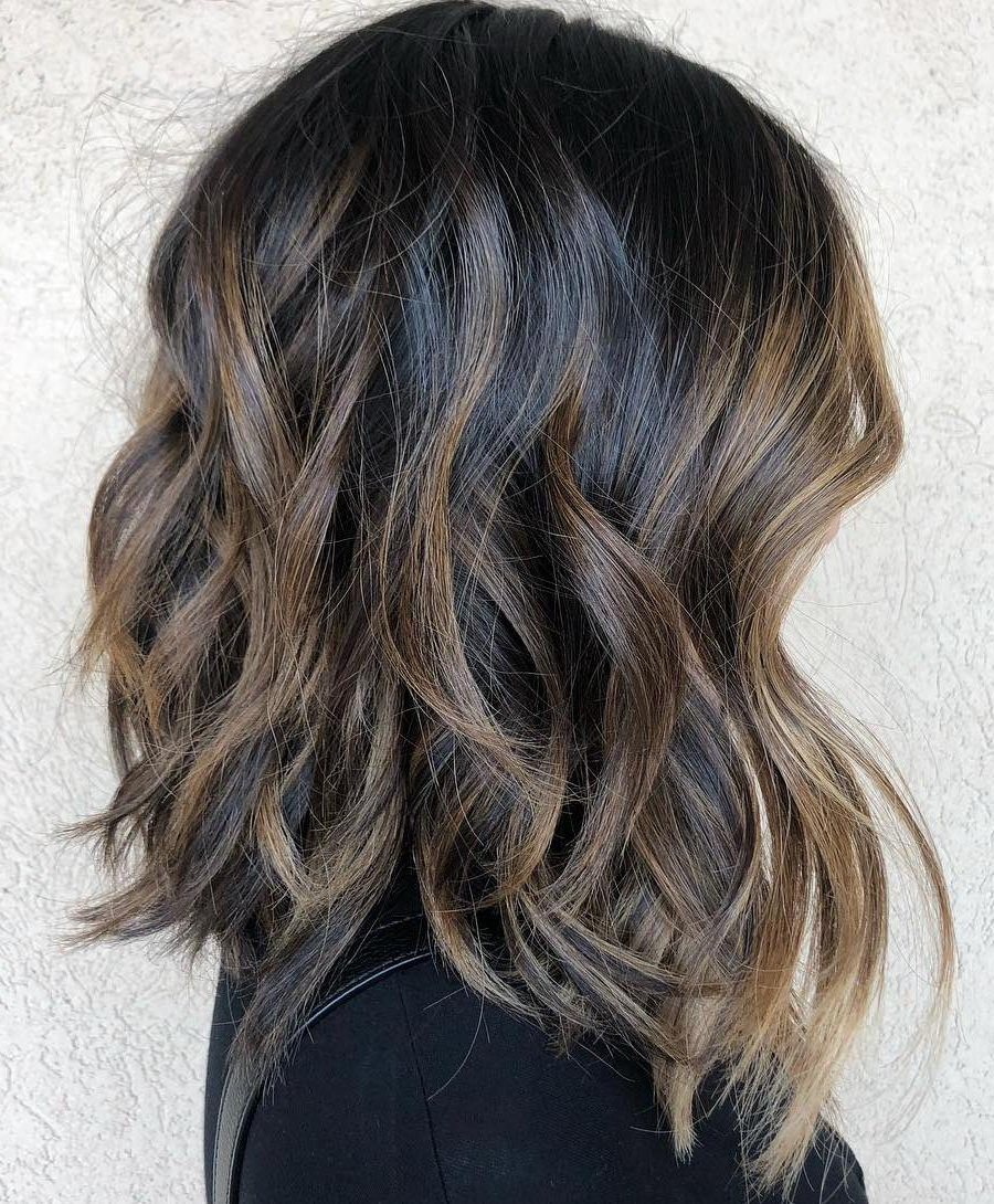 Find Your Best Bob Haircut For 2019 Regarding Trendy Curly Bronde Haircuts With Choppy Ends (View 11 of 20)