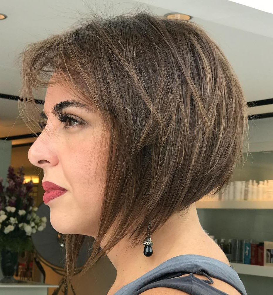Find Your Best Bob Haircut For 2019 Throughout Jaw Length Choppy Bob Hairstyles With Bangs (View 15 of 20)