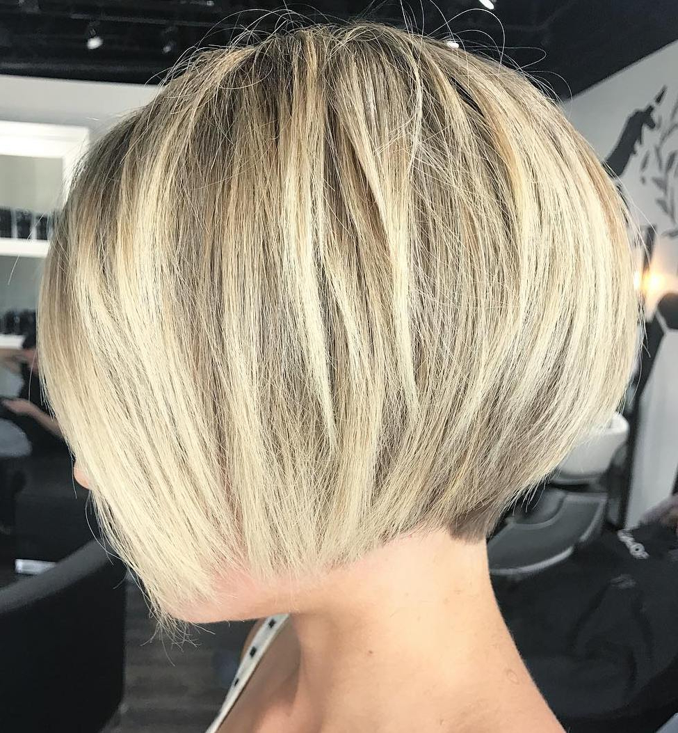 Find Your Best Bob Haircut For 2019 With Bronde Bob Shag Haircuts With Short Back (View 9 of 20)