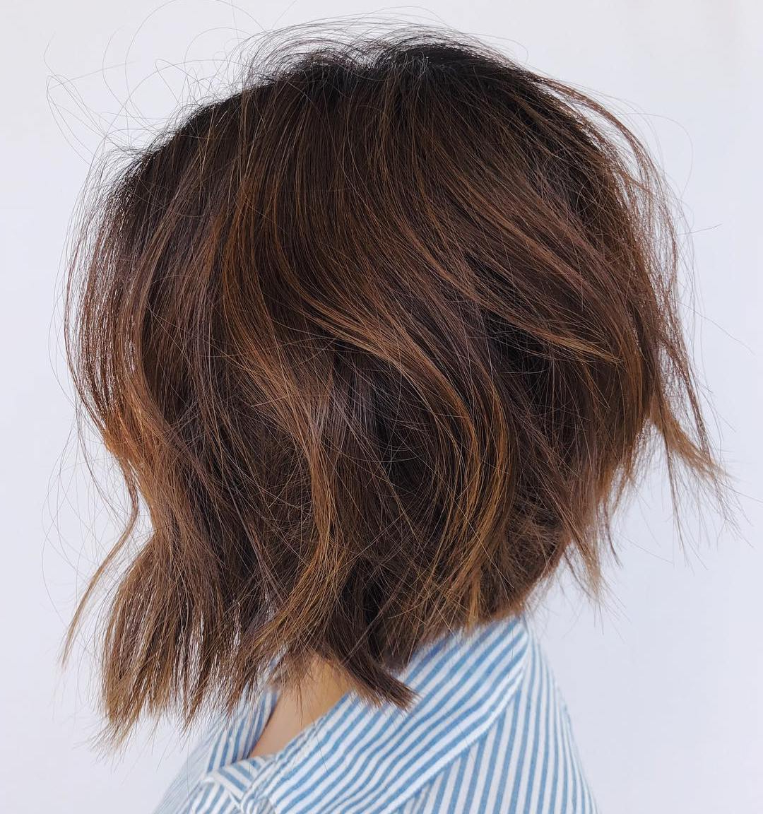 Find Your Best Bob Haircut For 2019 With Short Chocolate Bob Hairstyles With Feathered Layers (View 11 of 20)
