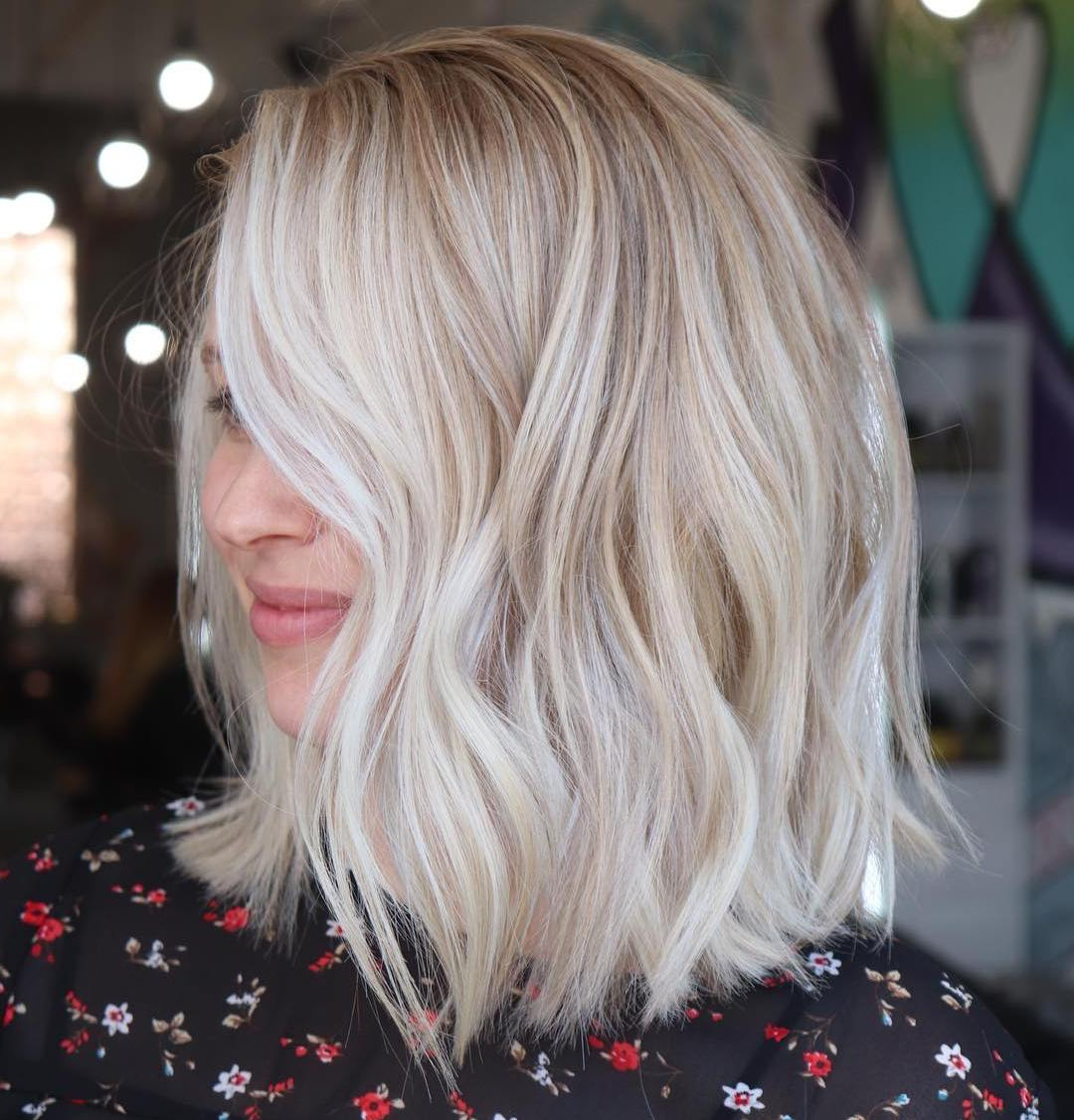 Find Your Best Bob Haircut For 2019 Within Feminine Wavy Golden Blonde Bob Hairstyles (View 16 of 20)