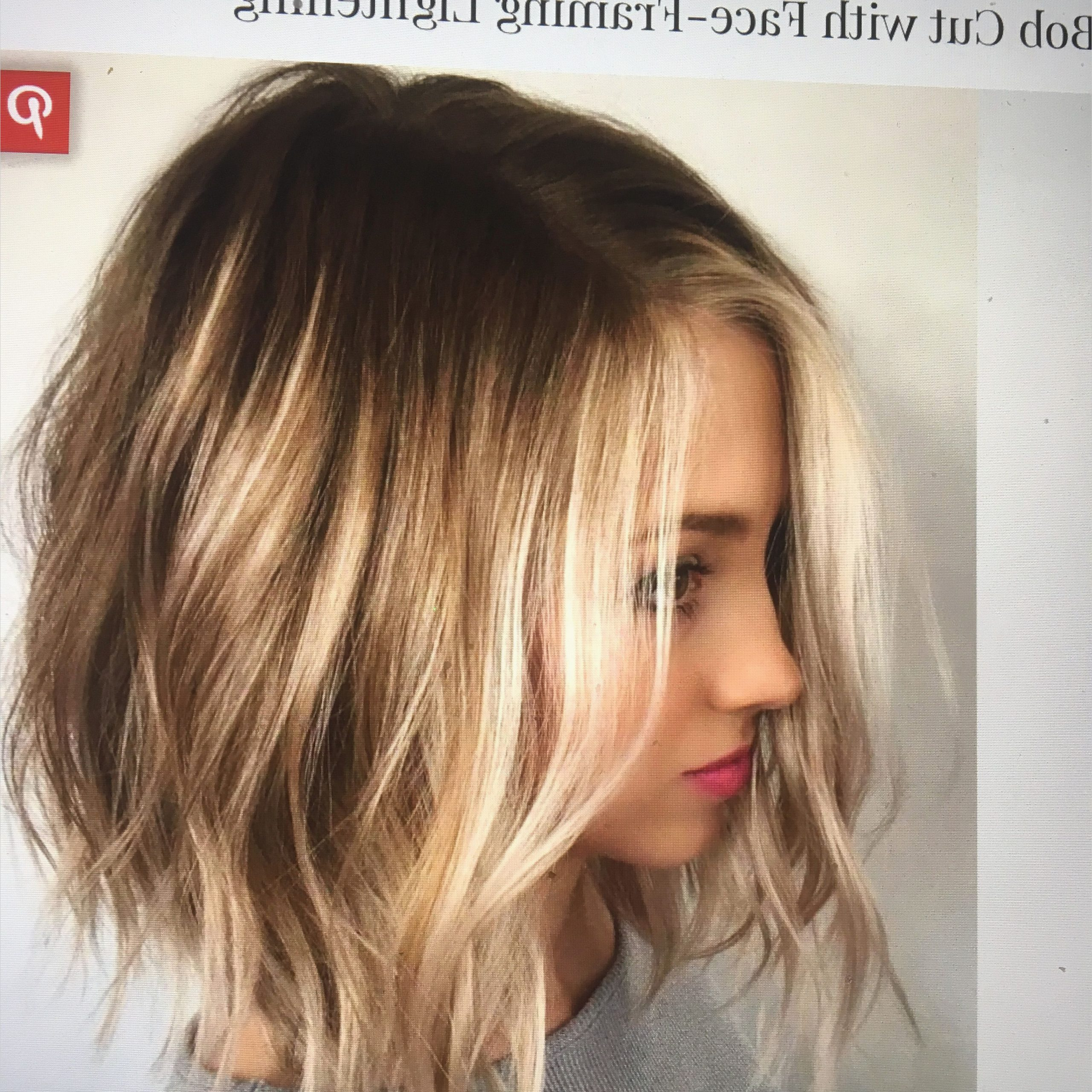 Featured Photo of Long Bob Hairstyles For Round Face Types