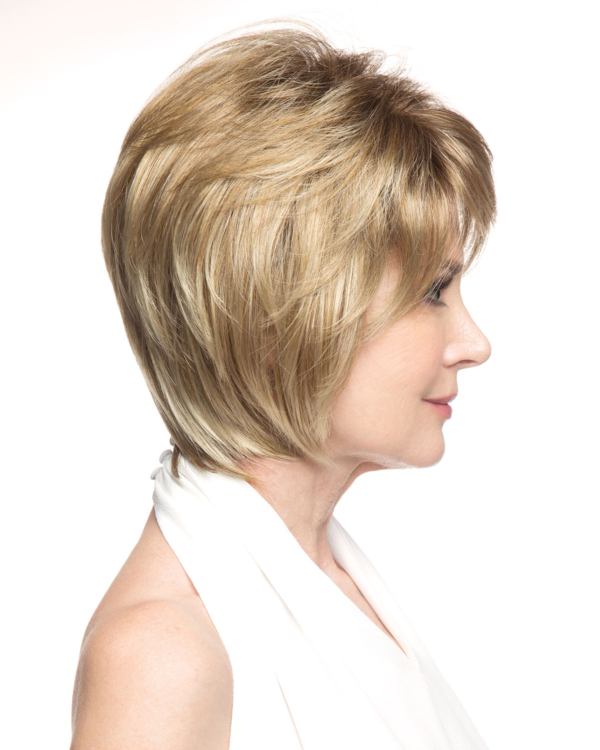 Georgina (exclusive) Lace Front & Monofilament Synthetic Wigrevlon Pertaining To Current Gorgeous Toasted Coconut Shag Haircuts (View 9 of 20)
