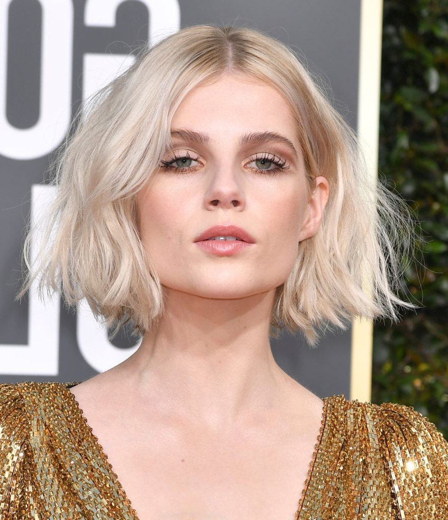Golden Globes 2019: Full List Of Hair Winners Revealed Regarding Feminine Wavy Golden Blonde Bob Hairstyles (View 17 of 20)
