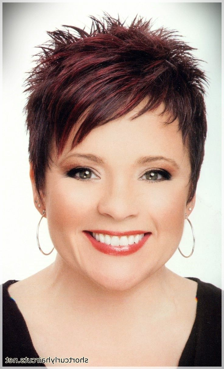 Hair Cuts : Best Pixie Haircuts For Round Faces Latest Within Cropped Haircuts For A Round Face (View 10 of 20)