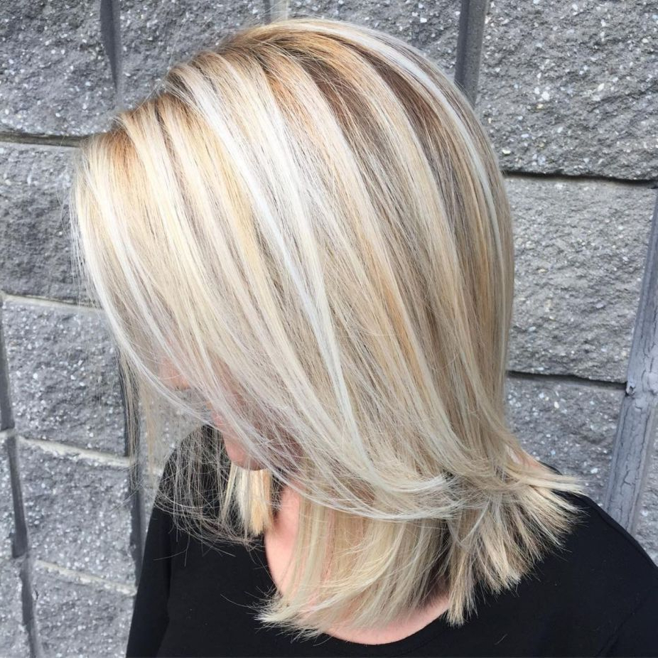Hair For Widely Used Blonde Medium Haircuts (View 12 of 20)