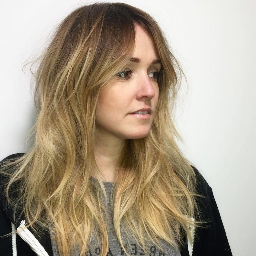 Hair Styles Within Well Known Blonde Shag Haircuts With Emphasized Layers (View 8 of 20)