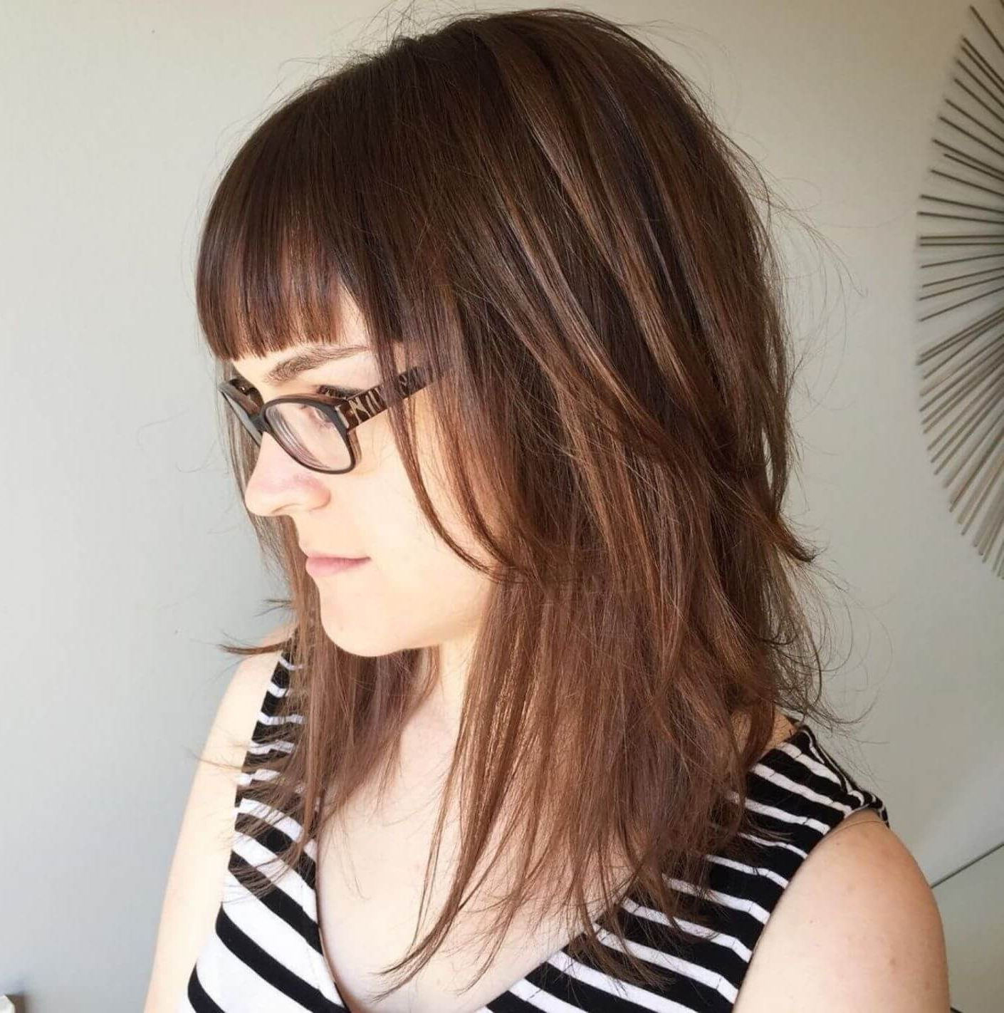 Hairdo Inside Current Medium Shaggy Brunette Hairstyles (View 12 of 20)