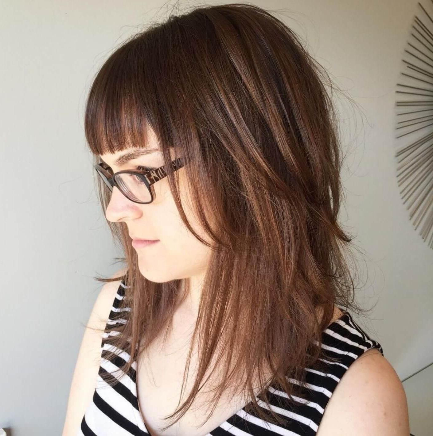 Hairdo Inside Current Medium Shaggy Brunette Hairstyles (Gallery 19 of 20)