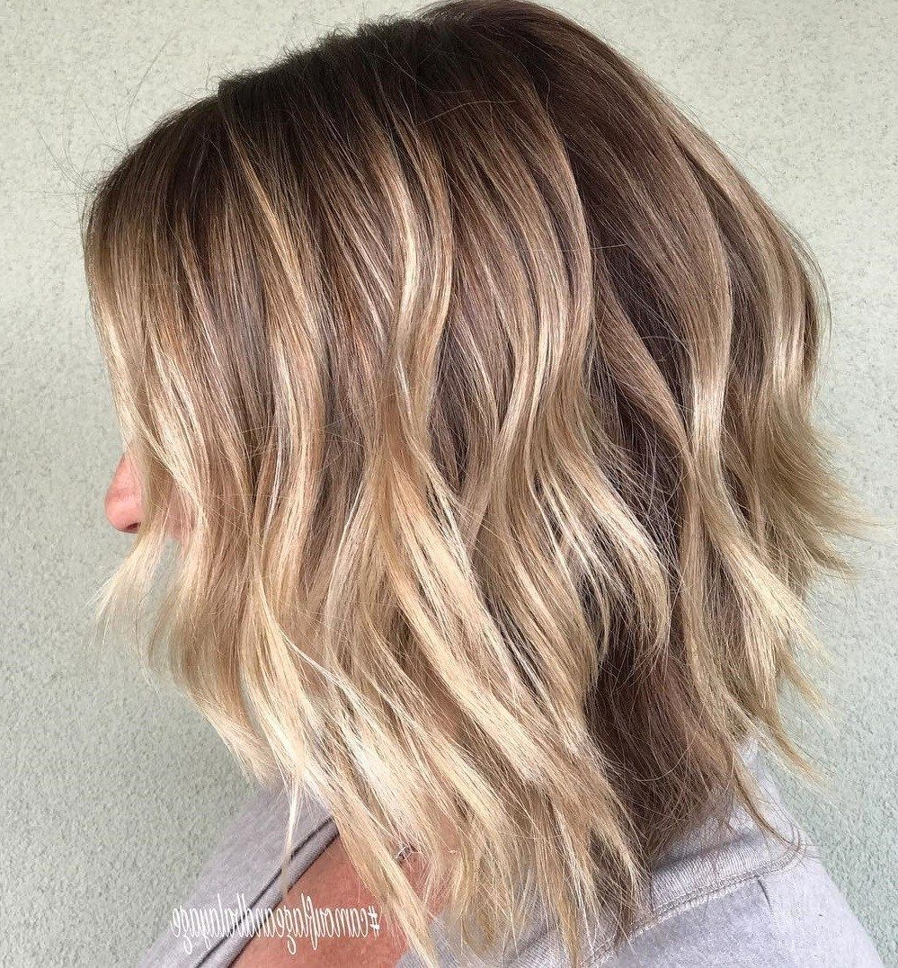 Hairs In In Popular Collarbone Bronde Shag Haircuts (View 10 of 20)