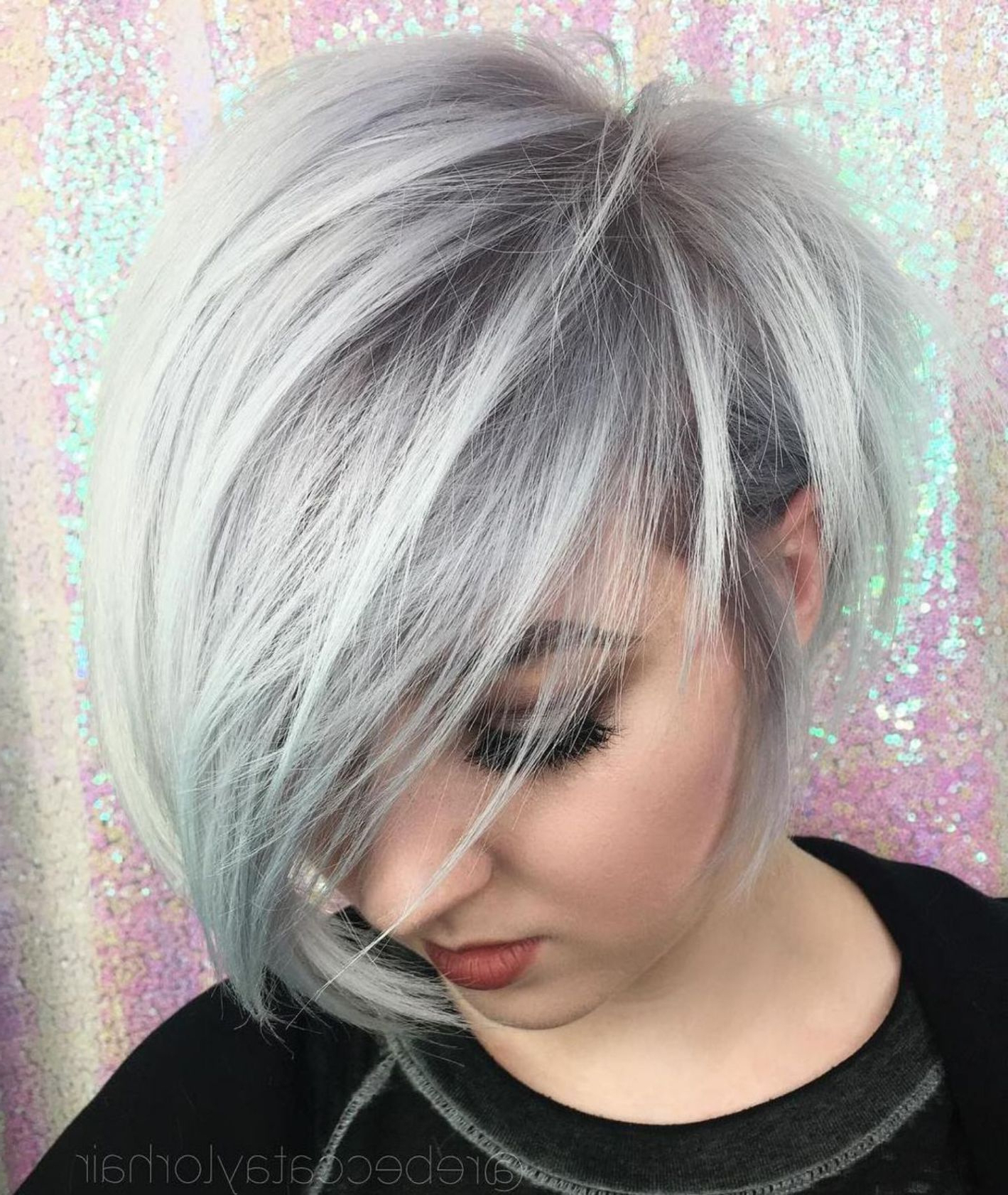 Hairstyles : Asymmetrical Haircuts For Round Faces Pertaining To Asymmetrical Shaggy Pixie Hairstyles (View 14 of 20)